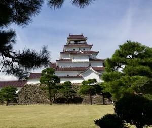 現在の会津若松城